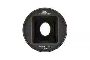 Sirui 50mm f/1.8 Anamorphic 1.33x Lens