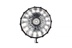 120cm Quadralite šviesdėžė / parabolic softbox