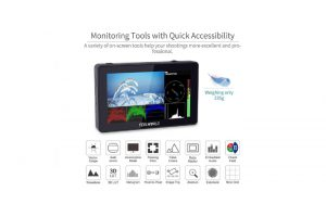 FeelWorld F6 PLUS 5.5″ 4K +LUT monitorius