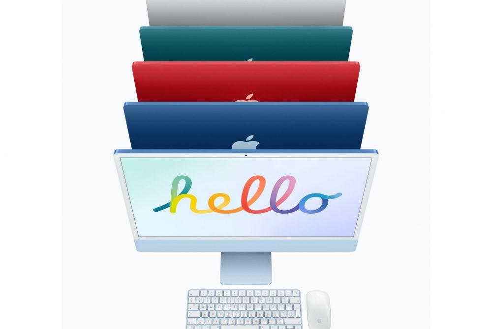 iMac 24″ 4.5K Retina, Apple M1